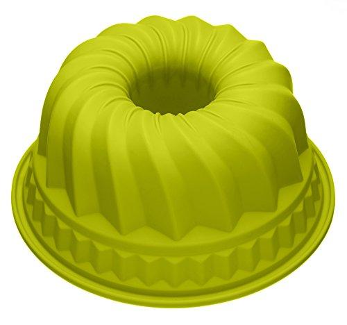 Baekka Silicona-molde para bizcochos verde 22 cm