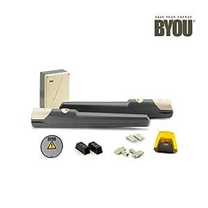 Kit per cancello battente fino a 2 mt per anta - Byou by Benincà
