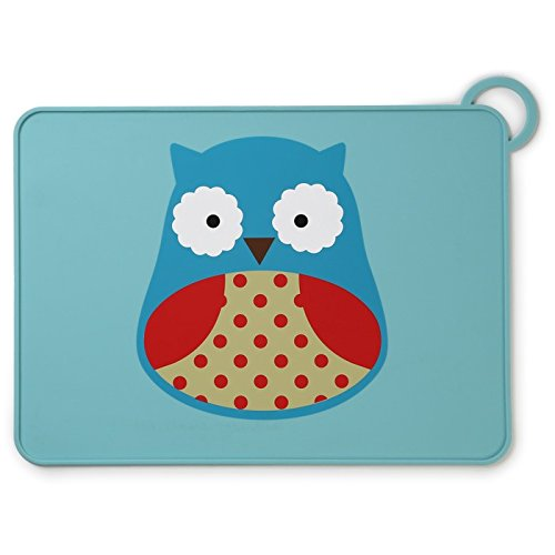 Skip Hop Zoo Fold and Go Placemat - Owl (Multicolor)