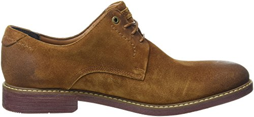 Rockport Herren Classic Break Plain Toe Oxford Braun (Cognac Suede)