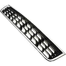 TOOGOO Reja del radiador de Cromo Centro de Parachoques Delantero para Audi A4 B6 Limousine 02