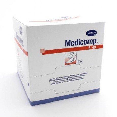 Hartmann–Medicomp Compresas 10x 10no tejidas estériles Talla:50 sachets de 2 compresses