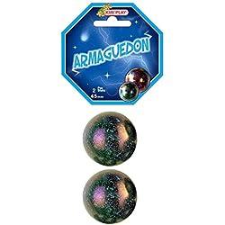 Pack 2Canicas gigantes Armageddon