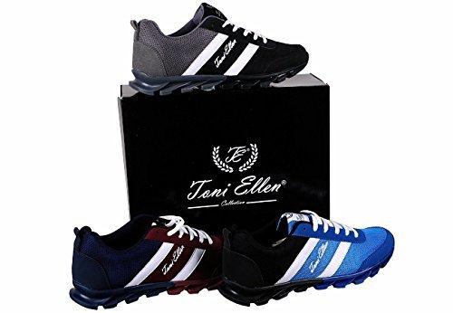 Toni Ellen Camel Adulte Chaussures Homme Femme Unisexe Chaussures de sport Sneaker EU 40 - 44 LightBlue
