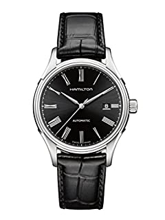 Hamilton Men's Analogue Automatic Watch with Leather Strap H39515734 (B007XT2HMU) | Amazon Products