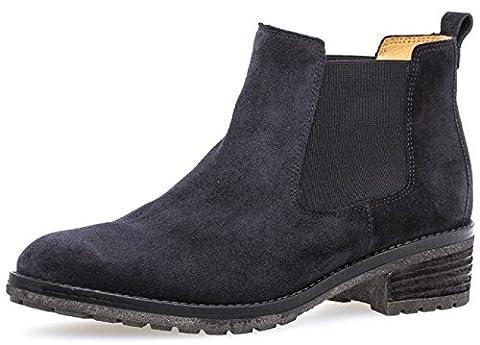 Gabor Damenschuhe 71.610.16 Damen Chelsea Boots, Stiefel, Stiefeletten Blau (pazifik), EU 9.5