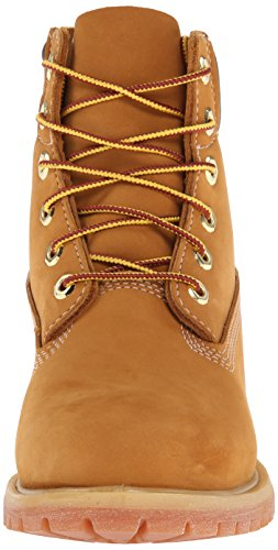 "Timberland 6"" Premium Boot - W, Chaussures montantes femme Marron (Wheat Waterbuck)"