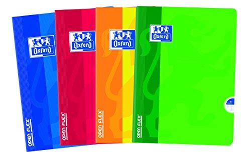 Oxford-Openflex-Collegeblock, 48Seiten A4(10Stück, verschiedene Farben)