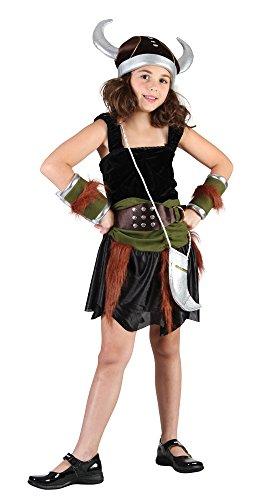 (Bristol Novelty Wikinger-Kostüm für Mädchen)