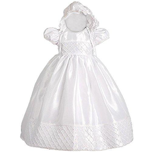 Lito Angels Bébé Filles perlée Baptême robe Costume Formel infantile Avec  bonnet taille 6-9 ddead966021