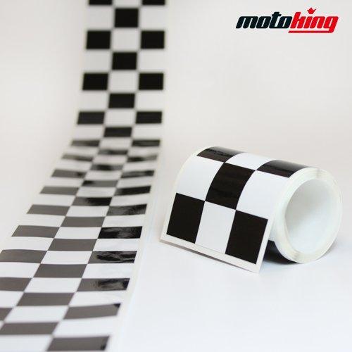 Rallystreifen in 60 mm Breite und 2 Meter Länge