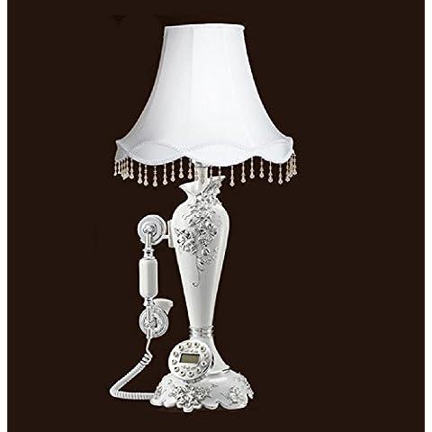 GYN Europeo-stile antico di ceramica Comodino lampada da tavolo con
