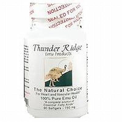 Thunder Ridge Emu Emu Oil Gel Caps, 90 ct by Thunder Ridge Emu Products