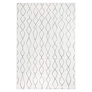 Andiamo Webteppich Bolognia Ornament-Muster modern Polypropylen Öko-Tex 100 Teppich Grau, 160x235 cm