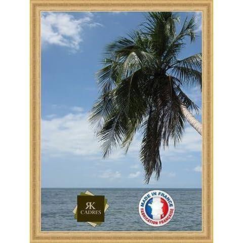 Marco de foto de la pared 50x70 / 50 x 70 marco de la foto Or Classique, 3.6 cm de ancho, Marco de madera de fotos