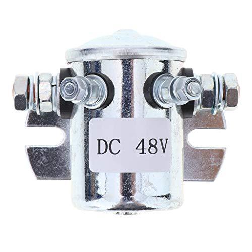 Almencla 200A Vollautomatisches Starter Relais Arbeitsstromrelais Magnetventil Doppelte Batterien Isolator - 48V 200a Batterie-isolator