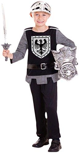 erdbeerloft - Jungen Soldaten Kostüm, Karneval, Fasching, Halloween, Schwarz, 98-116, 3-6 Jahre