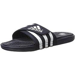 Adidas Adissage, Zapatos de Playa y Piscina para Hombre, Azul Ftwbla/Nuenav 000, 47 1/3 EU