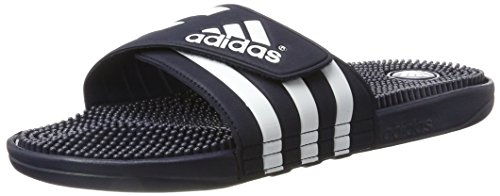 adidas Herren Adissage Aqua Schuhe, Blau (Nny/Ftwwht/Nny 78261), 47 EU Frauen-tennis-schuhe Blau