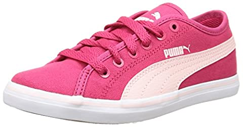 Puma Elsu V2 Cv, Baskets mode garçon - Rouge (Rose Red/Pink Dogwood), 31 EU (12 UK)
