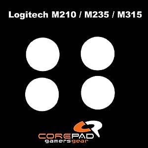 Corepad Mausfüße Skatez Pro 66 Logitech M210 – Logitech M235 – Logitech M315 – Logitech MK320