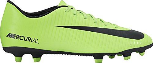 Nike Mercurial Vortex Iii Fg, Scarpe Sportive Indoor Uomo, Verde (Electric Green/Flash Lime/White/Black), 42 EU