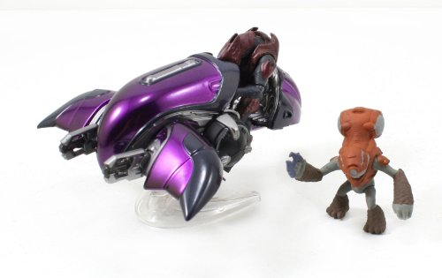 Halo 4 Diecast Fahrzeug Serie 1 Covenant Ghost 11 cm mit 2 Figuren