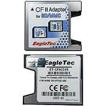 Komputerbay - Adaptador de tarjetas SD, SDHC y MMC (de tipo Compact Flash II, alta velocidad) SDXC / SDHC / SD TO CF ADAPTOR