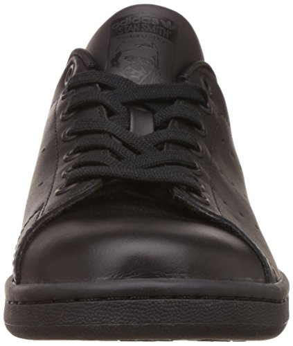 adidas Originals Stan Smith, Baskets Mode Mixte Adulte Noir (Black/Black/Black)