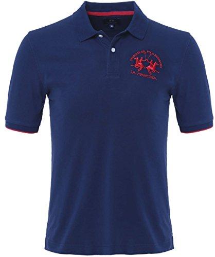 la-martina-plain-polo-shirt-marine-xxxl