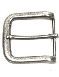 Gürtelschnalle Vintage antik Buckle 40 mm Metall Dornschließe für Gürtel mit 4 cm Breite M 2