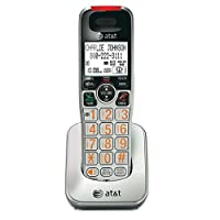 AT&T CRL30102 telephone - telephones (DECT, Silver, handset, ENG, ESP, FRE)