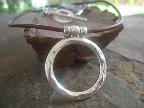 -martele-ring-leather-chaine-en-cuir-marron-collier