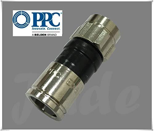 RG6PLUS Allium RG-6 PPC Belden EX6 Plus Signaldichter Snap & Seal Outdoor Kompressionsstecker für Comcast, DTV & Dish genehmigt, 1 Beutel mit 50 Steckern - Rg6-snap