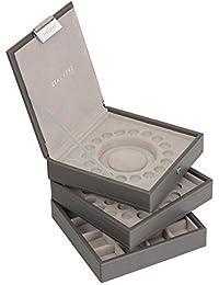 Stackers - Joyero para pulsera estilo Pandora, color gris