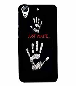 PrintVisa Quotes & Messages 3D Hard Polycarbonate Designer Back Case Cover for HTC Desire 728