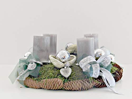 Herzen Weihnachten Sterne Kugeln Lichter Kerzen Weihnachtsbaum Kranz ()
