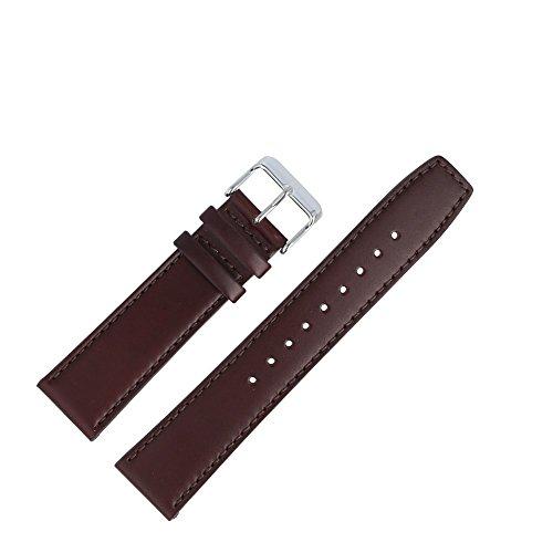 Tommy Hilfiger Uhrenarmband 22mm Leder Braun Glattleder - Uhrband 679301572