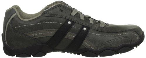 Skechers Diameter Blake, Chaussures de ville homme Gris (Char)