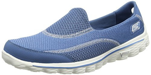 Skechers Gowalk 2 Spark, Women's Running Shoes, Blue (Blu), 6 UK (39 EU)