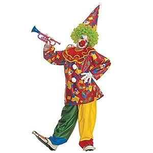 WIDMANN Widman - Disfraz de payaso de circo para niño, talla 11-13 años (38588)