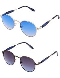 ADDON EYEWEAR Brand UV Protected Unisex Round Wayfarer Sunglasses For Men Women Boys And Girls Non Polarized Goggle... - B077DD4PBC