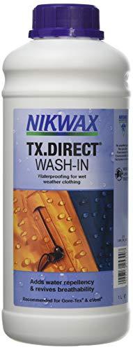 VAUDE Nikwax TX-Direct, 300 ml, Einwaschbare Imprägnierung für Membranbekleidung