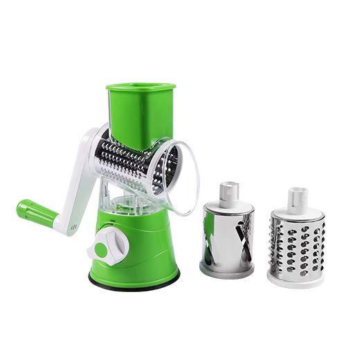 KHKJ DUOLVQI Manual Vegetable Cutter Slicer Multifunctional Round Mandoline Slicer Potato Cheese Kitchen Gadgets Kitchen Accessories -