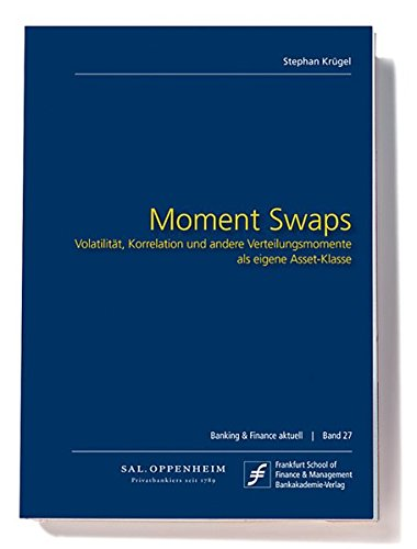 Moment Swaps: Volatilität, Korrelation und andere Verteilungsmomente als eigene Asset-Klasse