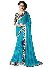 Cotton Silk Gorgette Sarees Latest Partywear Sari Bollywood Designer Saree Causal Treditional Chiffon Net Sadi...
