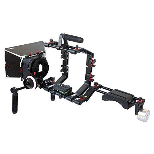 erstativ-Set mit Kompendium, Schärfeziehvorrichtung und Gehäuse mit Griff oben, FC-03, für DSLR-Kameras ()
