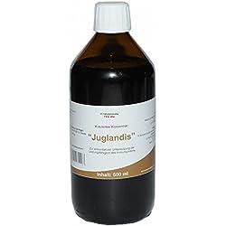 Juglandis Tee Konzentrat fuer das Immunsystem mit Walnuss Schalen Wermutkraut Nelken 500 ml