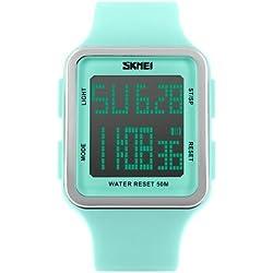 Fissler Männer SK1167B Outdoor-Sport-große Digital-Dial Armbanduhr schwarz wasserdichte Digitalanzeige