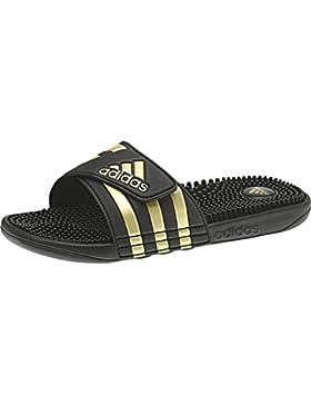 adidas Adissage, Zapatos de Playa y Piscina Para Niños, Negro (Negbás/Dormet/Negbás 000), 35 EU